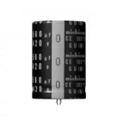 680uF 200VDC Ø22x45mm...